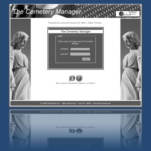 cemetery management software
